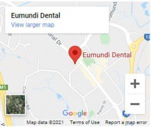 Eumundi Dental location map